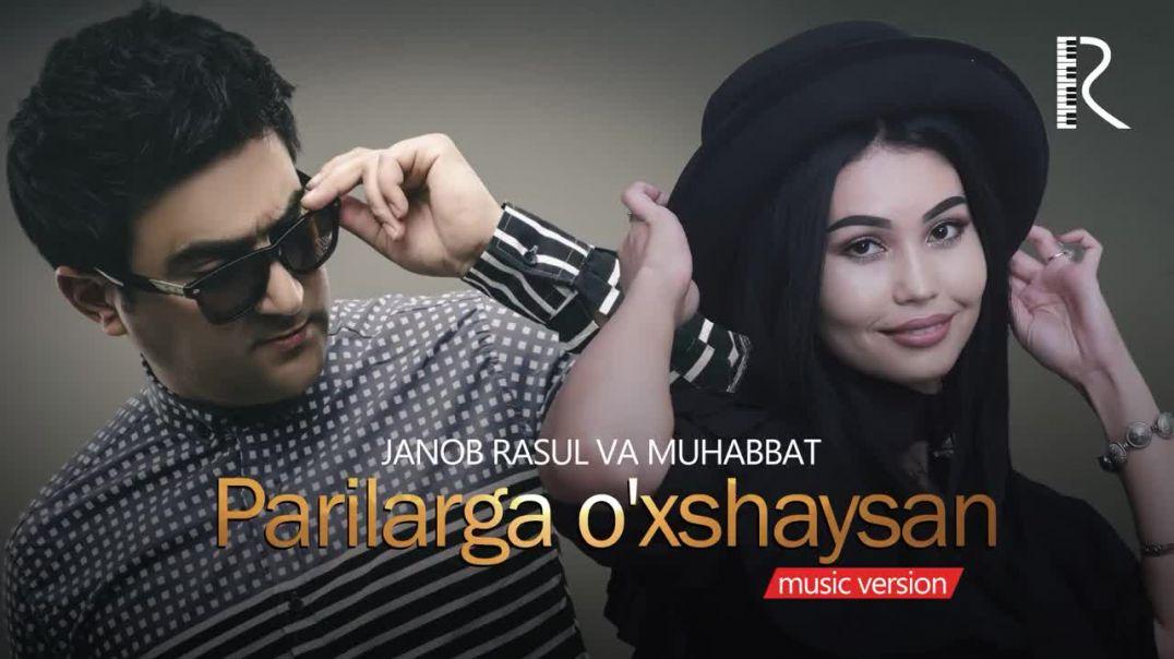 Janob Rasul  - Parilarga o'xshaysan (Music vimo 2018)Жаноб Расул - Париларга ухшайсан