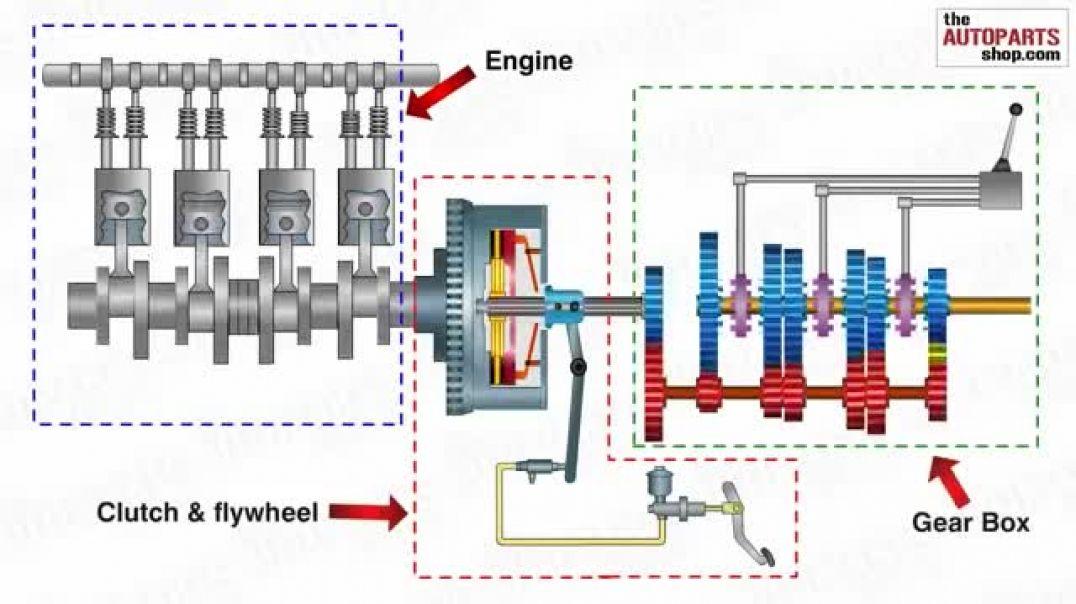 Как работает трансмиссия с МКПП
