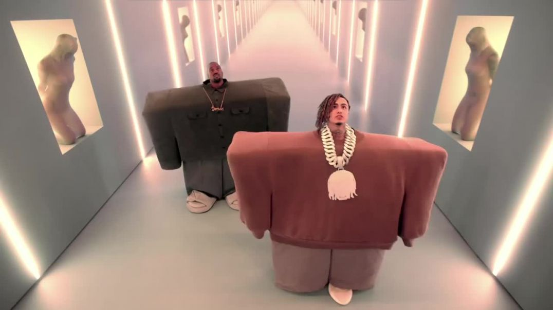 Kanye West & Lil Pump ft. Adele Givens - I Love It (Official Music Video on VIMO.UZ)