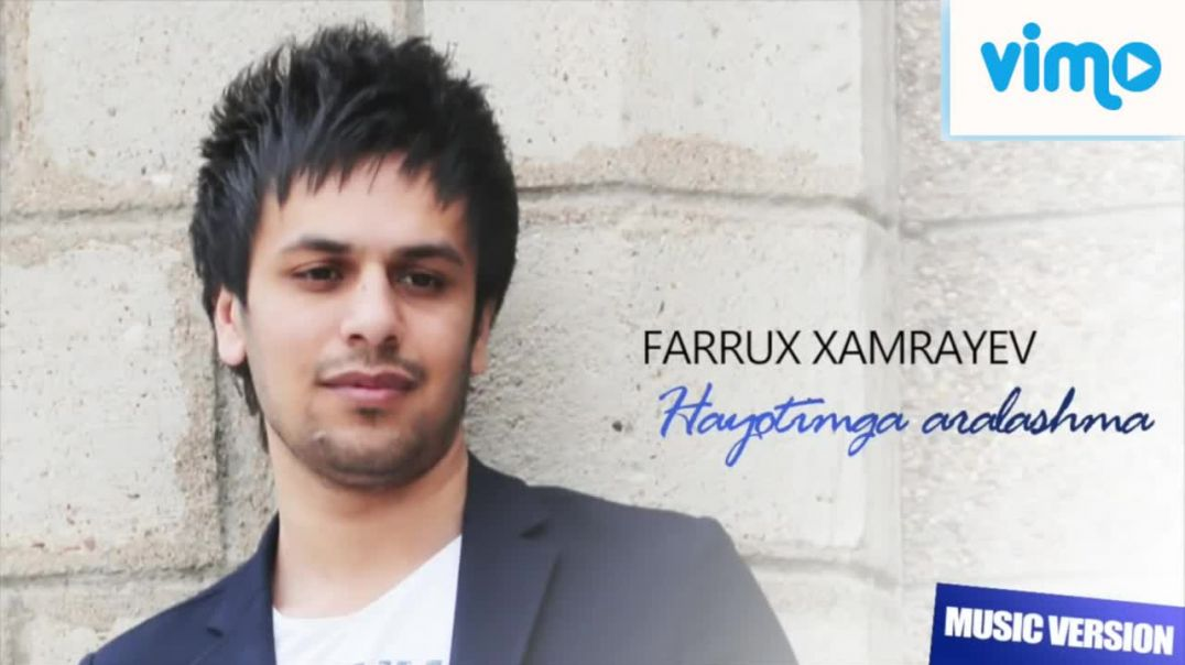 Farrux Xamrayev - Hayotimga aralashma | Фаррух Хамраев - Хаётимга аралашма (ArtRealMusic)