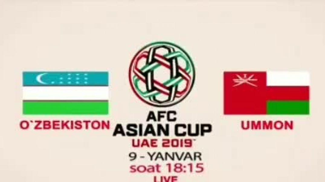 Uzbekistan va Ummon Oʻyini 09.01.19