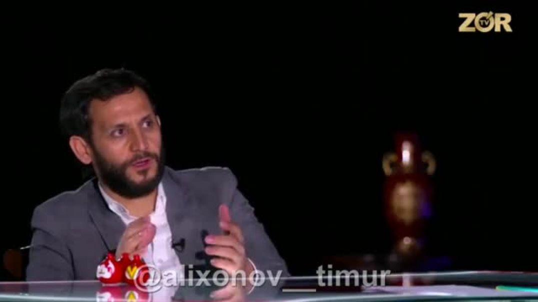 Жахонгир Отажонов билан очикчасига Интервью