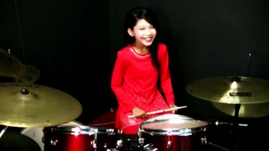 Dil To Pagal Hai - Drum Cover by Nur Amira Syahira