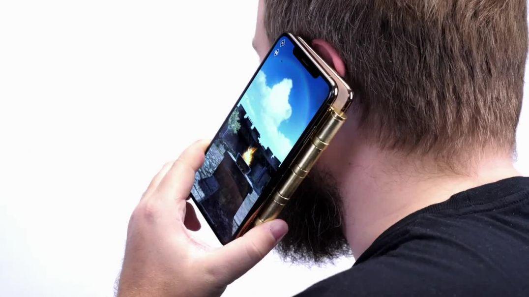 WYLSACOM | Презентация гнущегося iPhone Fold XS Max L