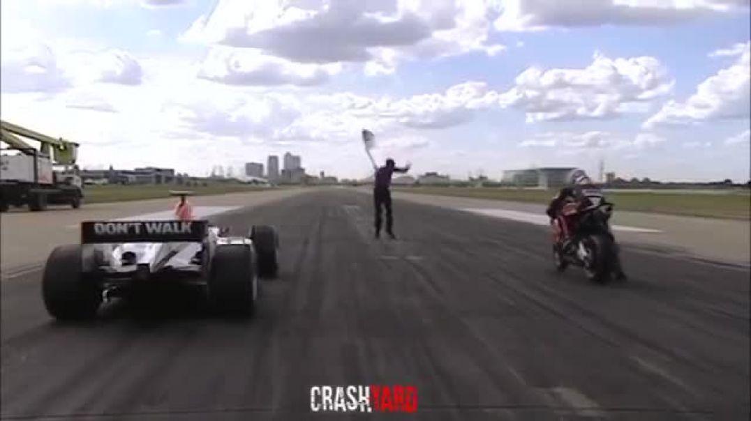 Formula 1 vs All Others - F A 18 Hornet, Ferrari, V8 Supercar, Super Bike, Rugby