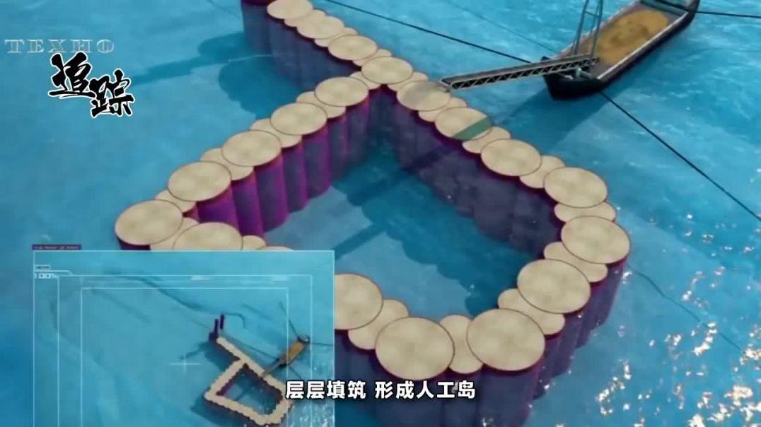 Как китайцы строят искусственные острова