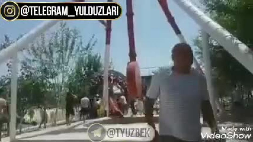 JIZZAXDA ATRAKSYON SINIB KETDI | ДЖЖАХДА АТРАКЦИОН СИНИБ КЕТДИ