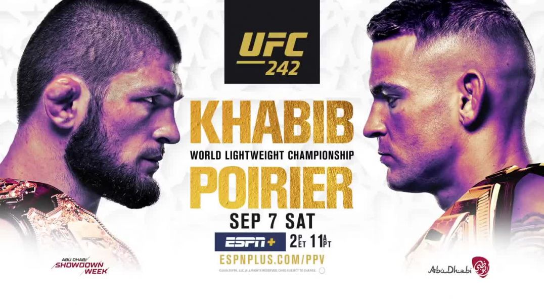 Khabib Nurmagomedov vs Michael Johnson - 23.08.2019  (UFC 242 Free Fight)