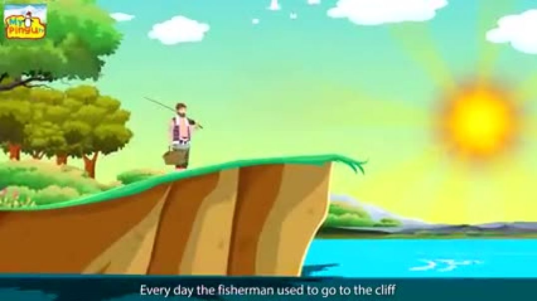 The Fisherman and His Wife (Bedtime English story for kids)