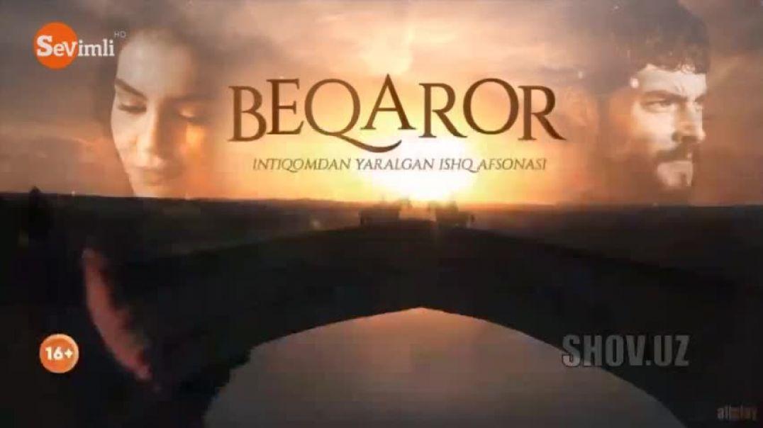 БЕКАРОР 20-КИСМ  - ТУРК СЕРИАЛ | BEQAROR 20-QISM (TURK SERIAL)  УЗБЕК ТИЛИДА