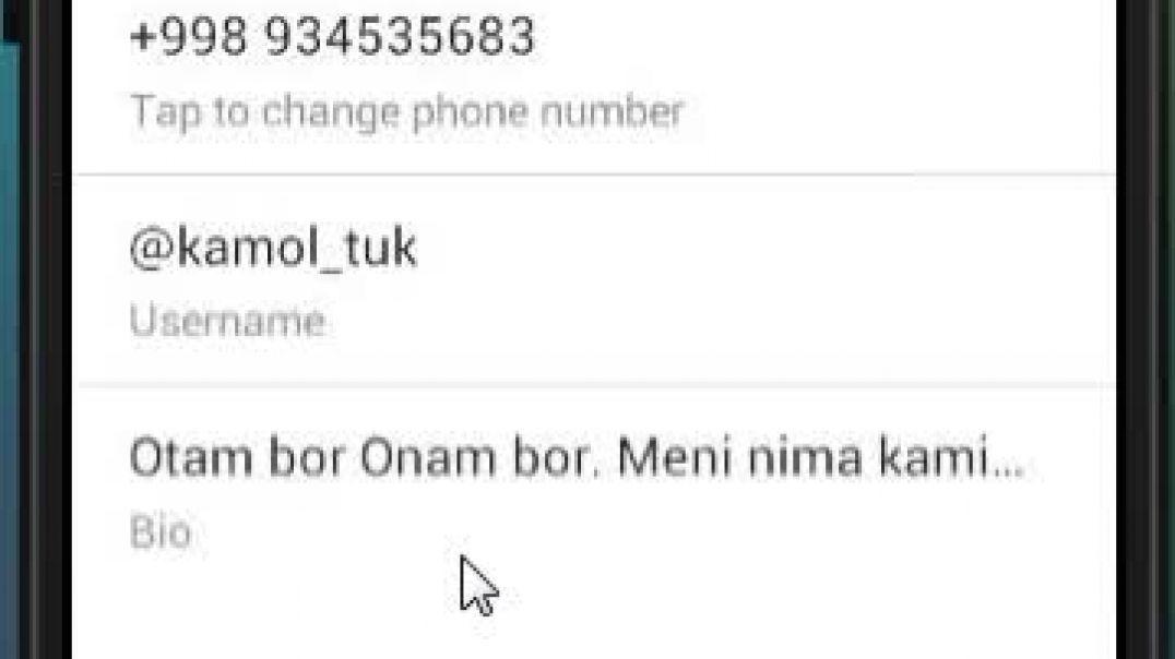 Telegramda raqamni yashirish, oxirgi kirgan vaqti va Online ligini yashirish, Profil rasmini yashiri