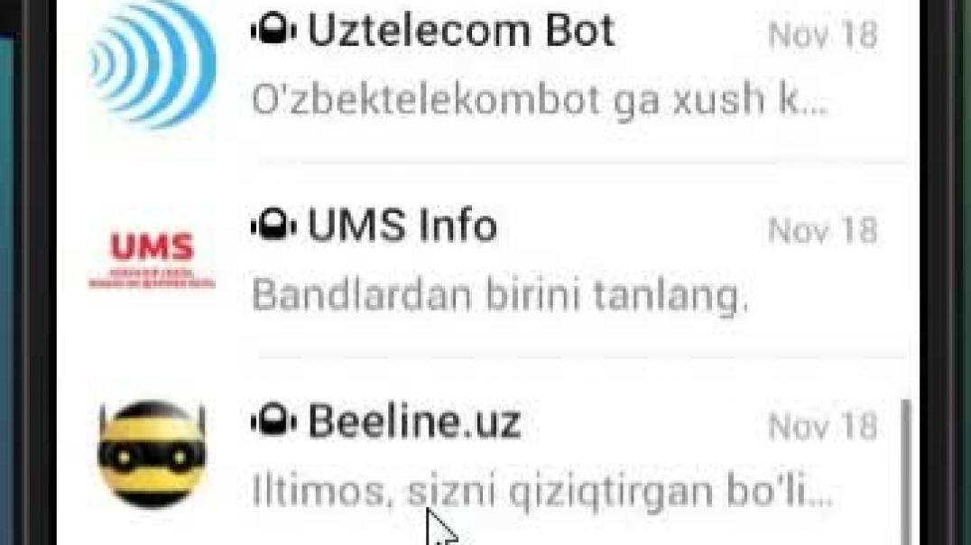 Internet dan Telegram ga MB ketkazmasdan narsa yuklash.mp4