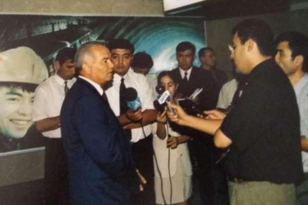 Toshkentda Metrosining Ochilishida Islom Karimov - 2000-yillar