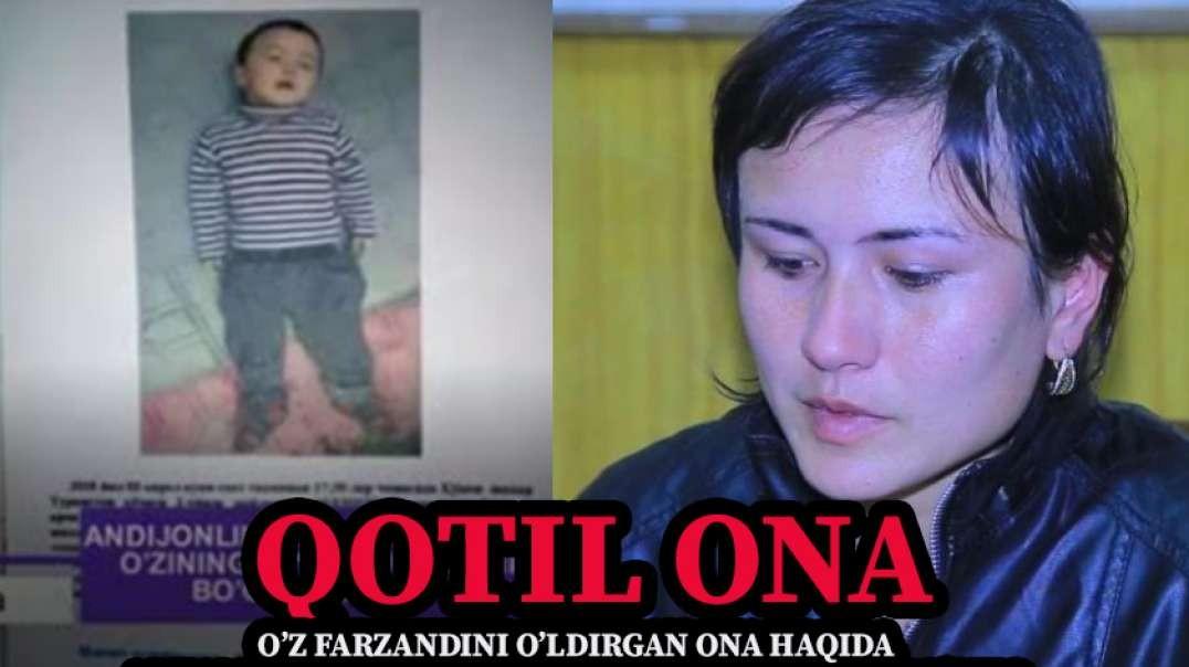 FAQAT YIG'LAMANG: Adham Soliyev - Qotil ona (Rivoyati)