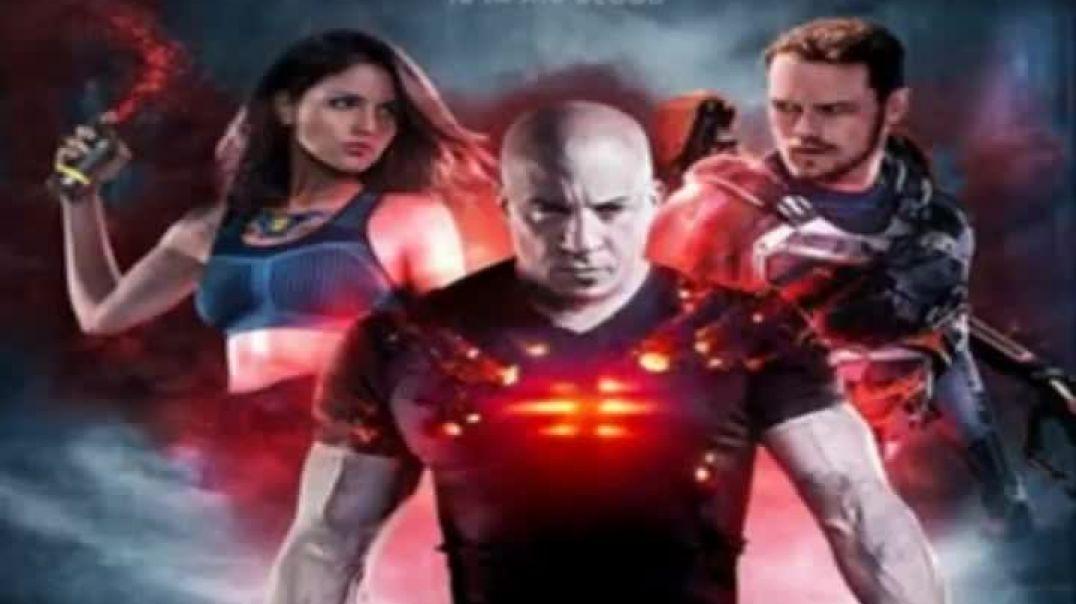 "Vin Diesel-Eiza González ~ Action ""BLOODSHOT'2020""psychotronic film"