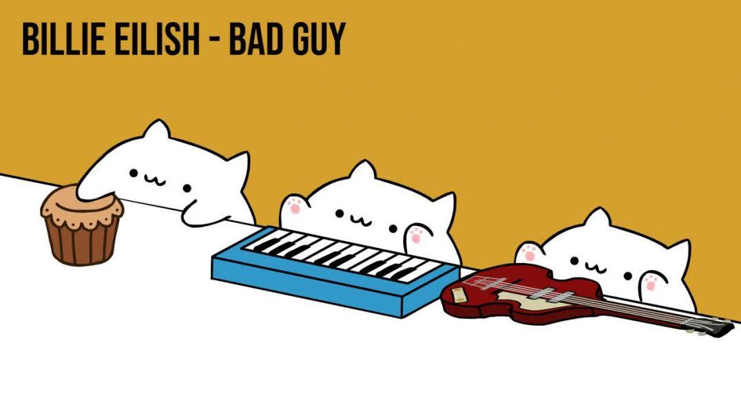 Bongo Cat - Billie Eilish - bad guy (Cat Cover)
