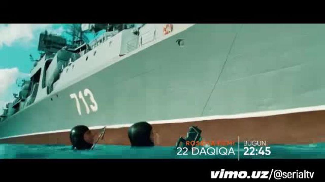 22 DAQIQA UZBEK TILIDA TASIX PREMERA RUS FILM 2020