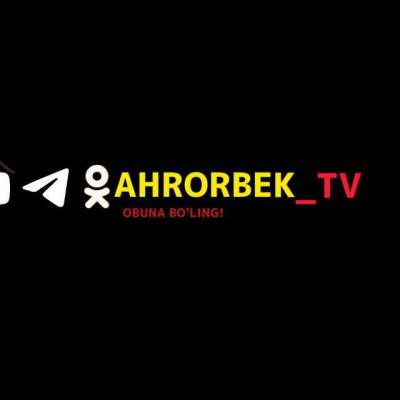 AHRORBEKTV